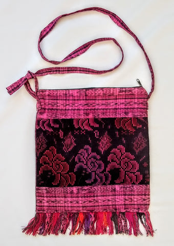 Handwoven Upcycled Cortes - Shoulder Bag