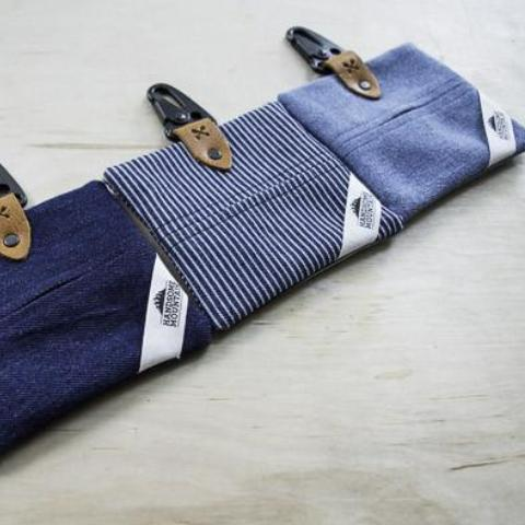 The Denim Series Poop Bag Holder