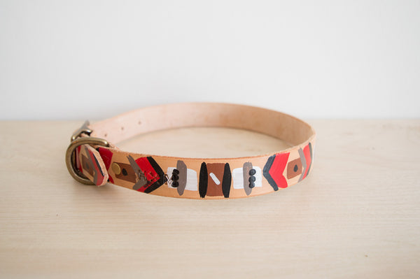 Red Ryder Painted Collar