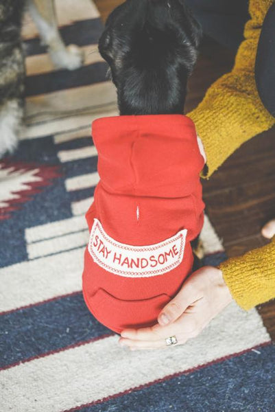 Stay Handsome Red Ryder Hoodie