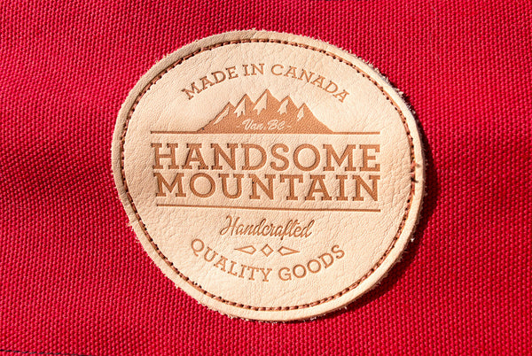 Handsome Mountain Campfire Red logo