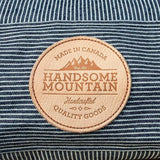 Handsome Mountain Engineer Stripe Logo