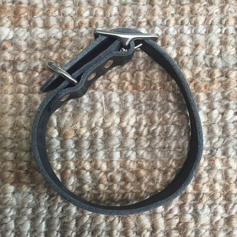 "1""Wide: 12-16"" Long ~ Classic Collar: Black"