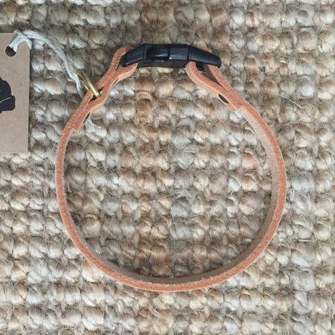 "1/2""Wide: 14"" ~ Clip Collar: Natural"