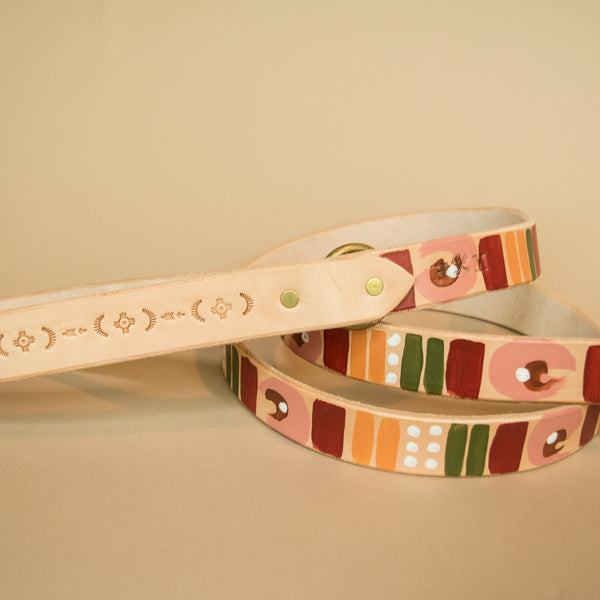 Desert Hues Painted Leash