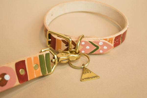 Desert Hues Painted Collar