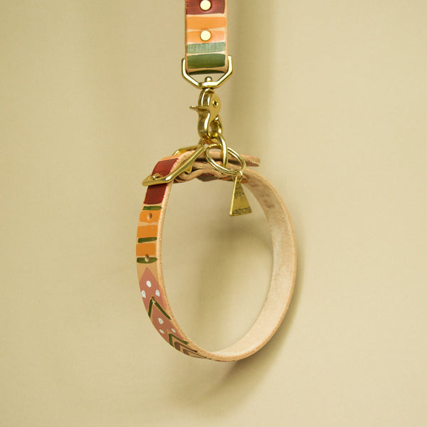 Soft Hues Painted Collar