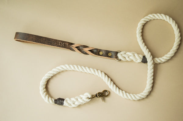 Bring on The Sun Braided Leash