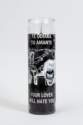 7 Day Your Lover Will Hate You Glass Candle