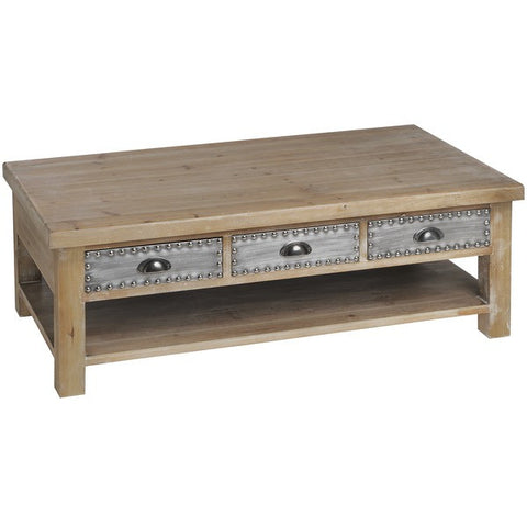 Tasman 3 Drawer Coffee Table