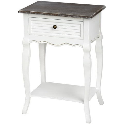 Charlotte Bedside Table with Drawer