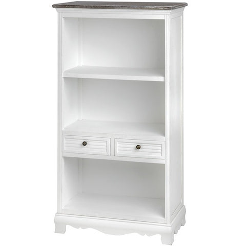 Charlotte Shelf Unit with 2 Drawers