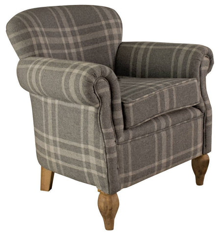 Chatsworth Tartan Armchair