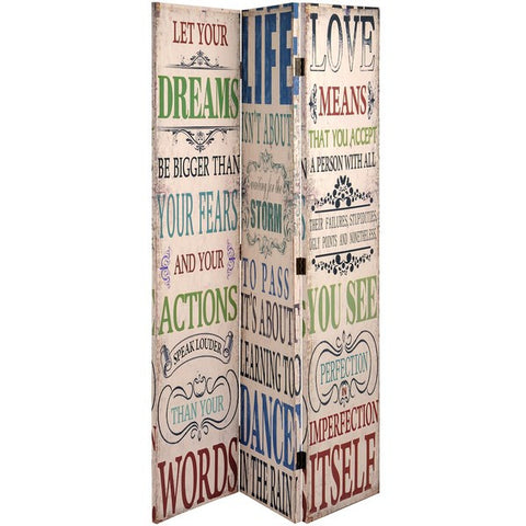 Dream Life Love Canvas Screen