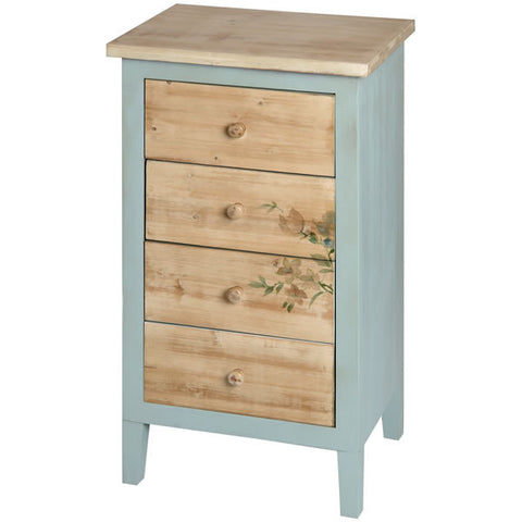 Le Jardin 4 Drawer Tallboy