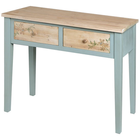 Le Jardin 2 Drawer Console Table