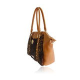Anna Smith Fur/Tan Handbag
