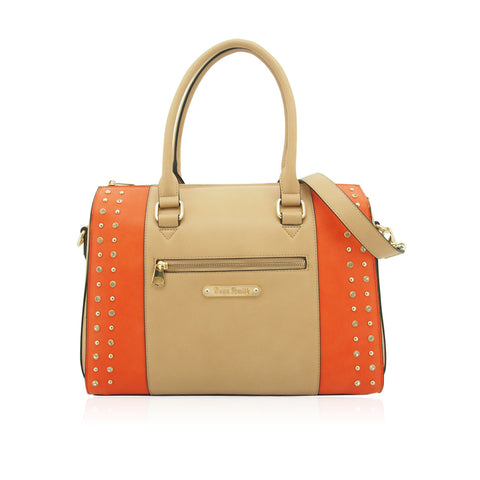 Anna Smith Orange and Apricot Handbag