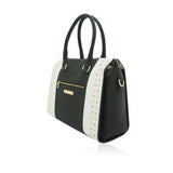Anna Smith Black and White Handbag