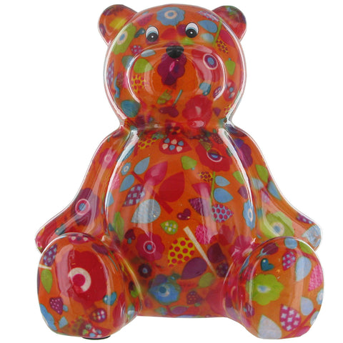 Pomme Pidou Bear (Dark Red)