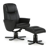 Bergen Recliner in Black