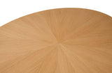 Bexley Round Oak Dining Table