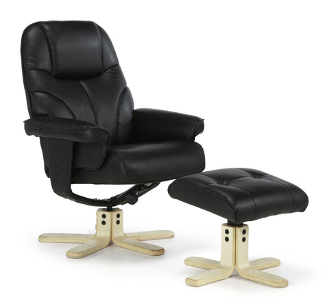 Bodo Recliner in Black