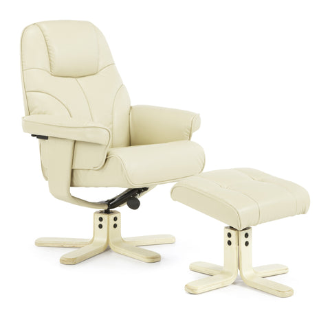 Bodo Recliner in Cream