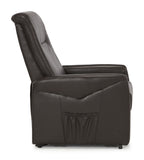 Brevik Rise and Lift Recliner in Brown