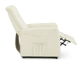 Brevik Rise and Lift Recliner in Cream