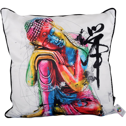 Patrice Murciano Buddha Cushion White (Feather Filled)