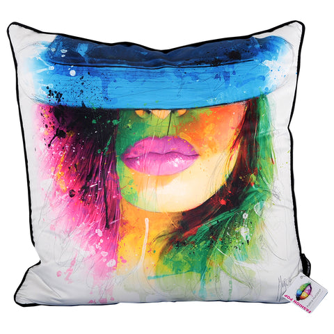 Patrice Murciano Coco Chapeau Cushion White (Feather Filled)