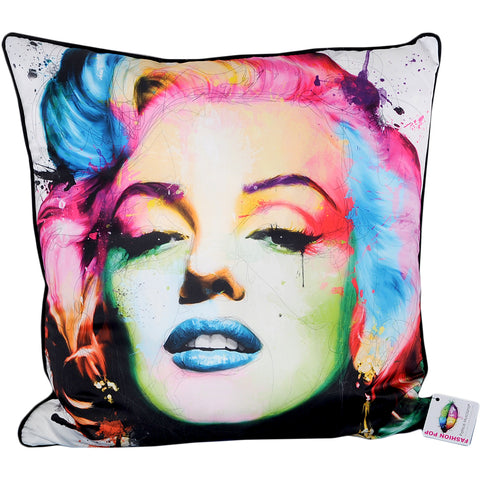 Patrice Murciano Marilyn Monroe Cushion (Feather Filled)