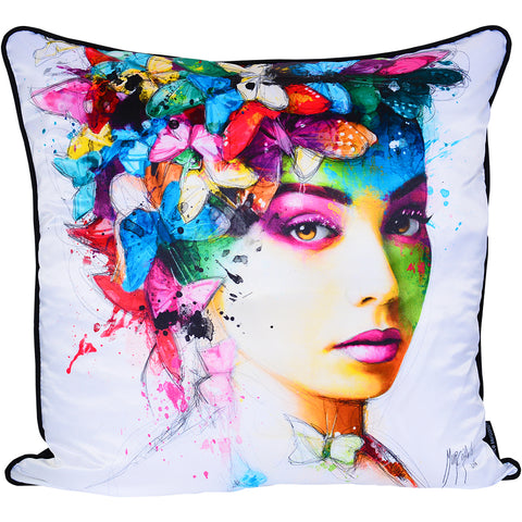 Patrice Murciano L'effet Papillion Luxury Cushion (Feather Filled)