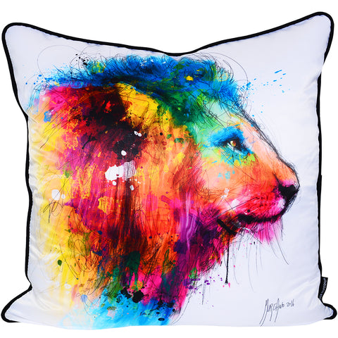 Patrice Murciano Lion Luxury Cushion (Feather Filled)