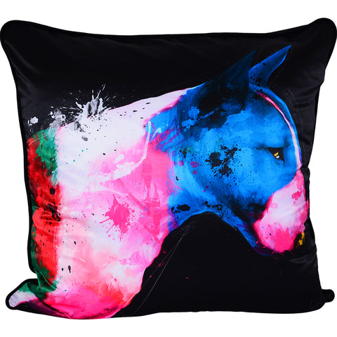Patrice Murciano Bull Terrier Feather Filled Cushion