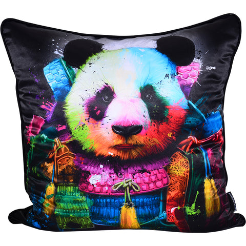 Patrice Murciano Panda Samurai Luxury Cushion (Feather Filled)