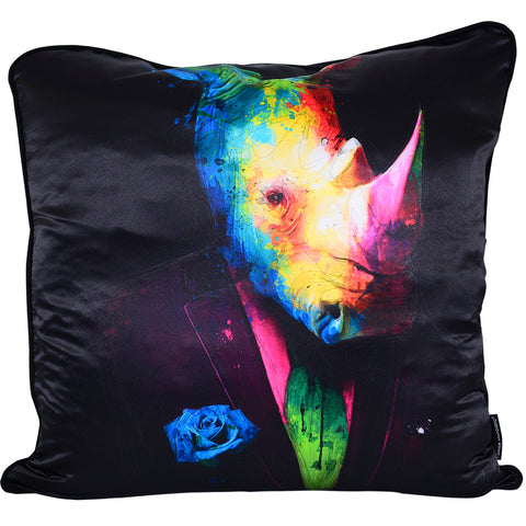 Patrice Murciano Rhino Luxury Cushion (Feather Filled)