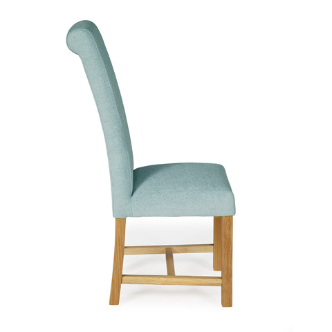 Prime Greenwich Dining Chair In Duck Egg Plain 2 Chairs Included Cjindustries Chair Design For Home Cjindustriesco