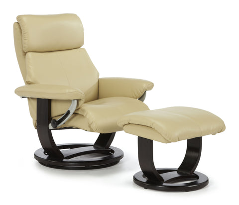 Harstad Recliner in Cream