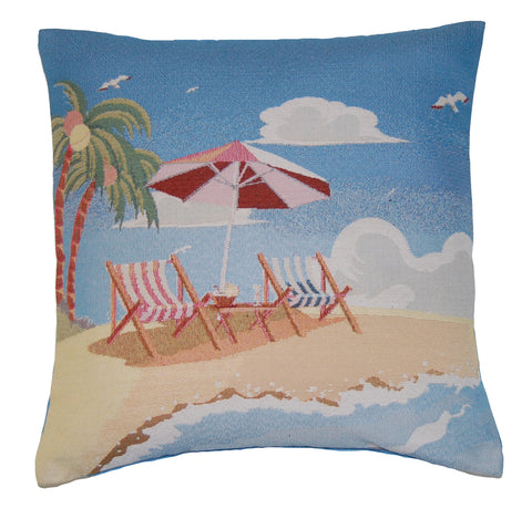 Beach Holiday Scatter Cushion