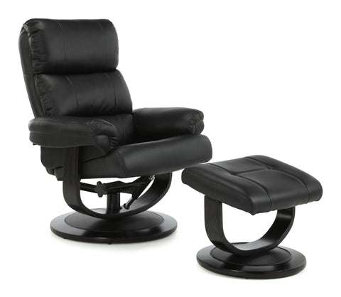 Horten Recliner in Black
