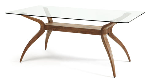 Islington Rectangular Glass Dining Table