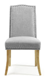 Knightsbridge Dining Chair in Steel (2 Chairs Included)