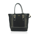 LYDC Black Langden Tote Bag