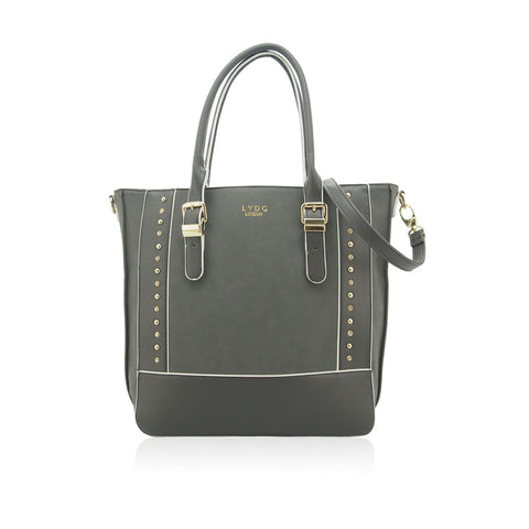 LYDC Grey Langden Tote Bag