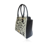 LYDC Black & White Eller Shoulder Bag