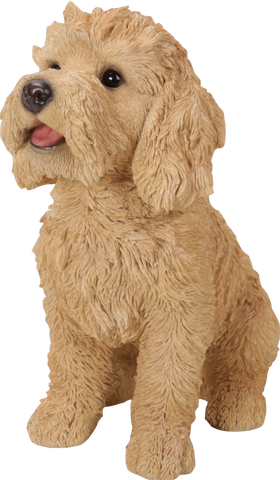 Golden Labradoodle from Vivid Arts Real Life Dogs Collection