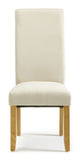 Merton Dining Chair in Putty/Oak (2 Chairs Included)