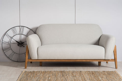 Milo 2 Seater Sofa - Light Grey